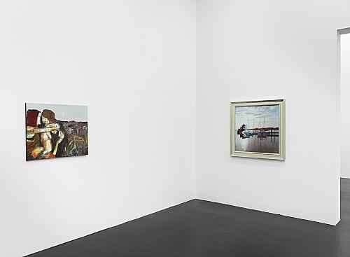 Nicolas Ceccaldi – Ritratto d'un capello inquietante installation view Galerie Buchholz, Köln 2019