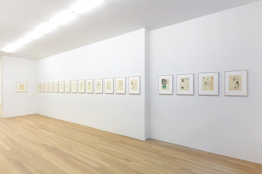 """Andy Warhol – From """"THE HOUSE THAT went to TOWN"""" installation view Galerie Buchholz, New York 2019"""