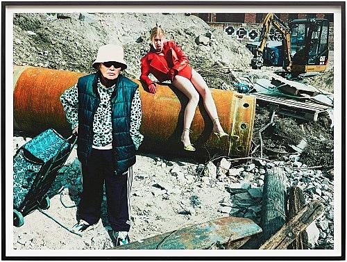 "Heji Shin – ""Mamma 2"", 2019 archival pigment print 55 x 75 cm (framed: 60 x 80 x 4 cm)"