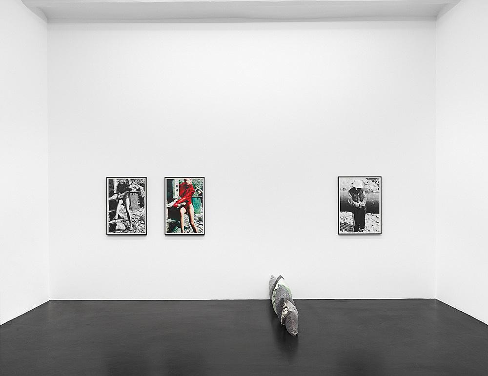Nicolas Ceccaldi Heji Shin – Ritratto d'un capello inquietante installation view Galerie Buchholz, Köln 2019