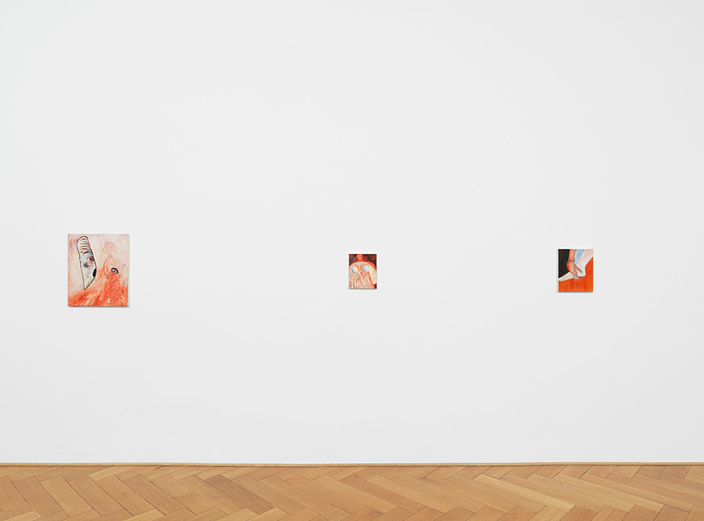Jutta Koether – Early Works 1982-1992 installation view Galerie Buchholz, Berlin 2019