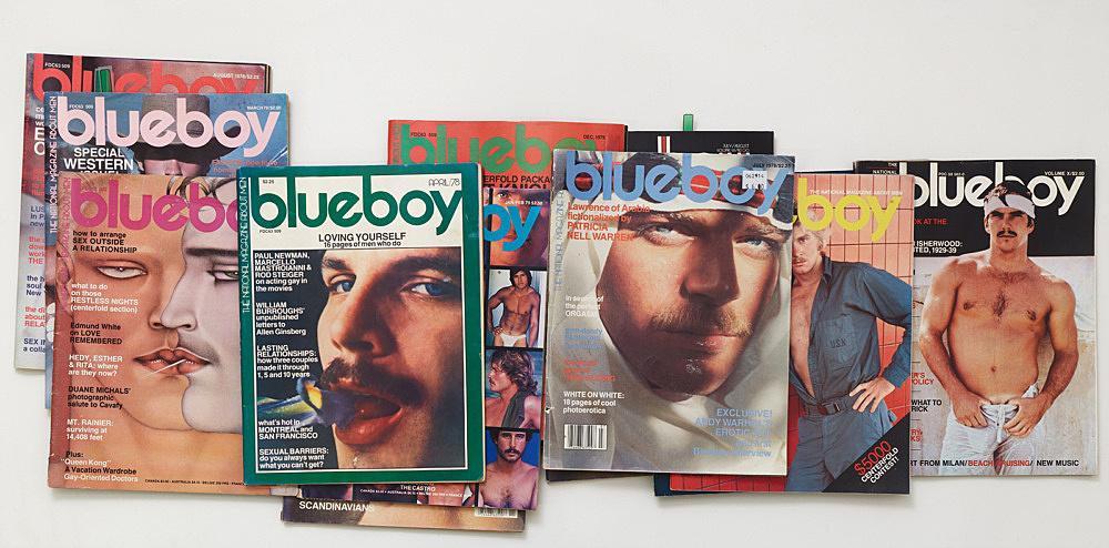 – blueboy magazines Galerie Buchholz, New York 2019