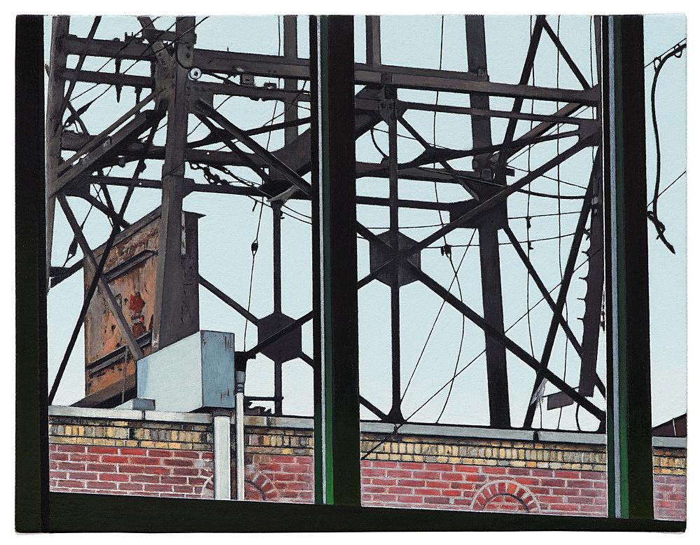 """Caleb Considine – """"Window"""", 2019 oil on canvas 25.5 x 33 cm"""