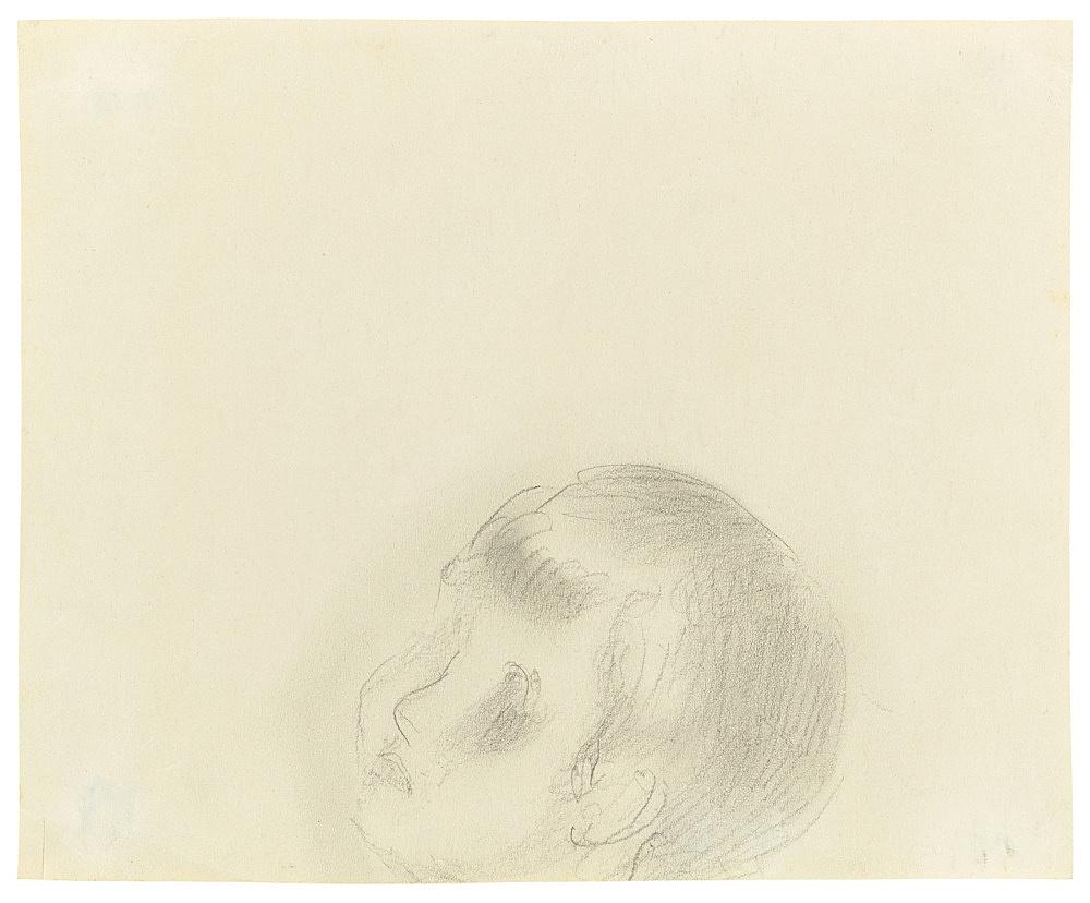 "Otto Meyer-Amden – ""Head of boy"", n.d. pencil on paper 18.3 x 22.5 cm"