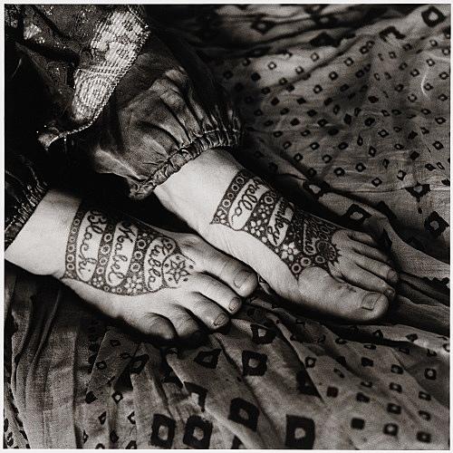 "Peter Hujar – ""Vali Meyer's Feet"", 1981 gelatin silver print image 37.2 x 36.8 cm"