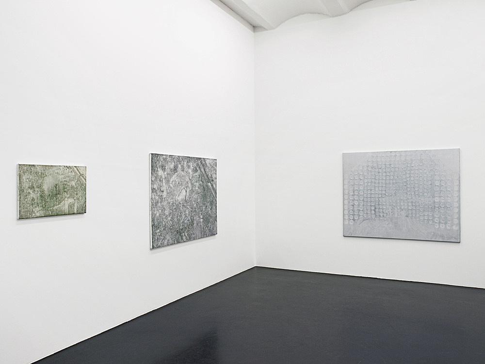 "Silke Otto-Knapp – ""Quartets"" installation view Galerie Daniel Buchholz, Köln 2007"