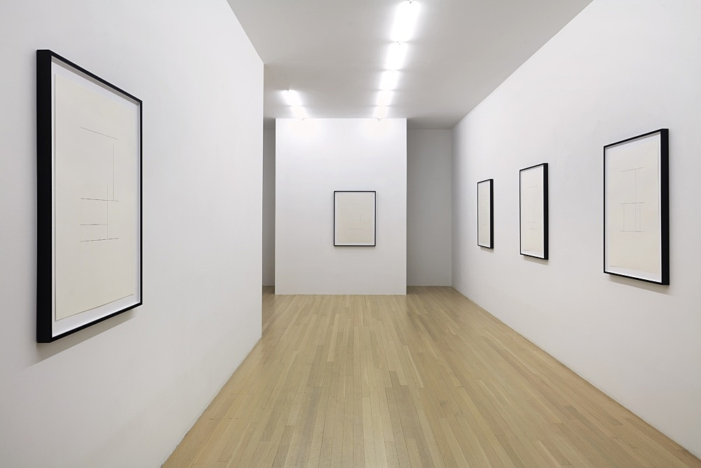 Mathias Poledna – Indifference installation view Galerie Buchholz, New York 2020