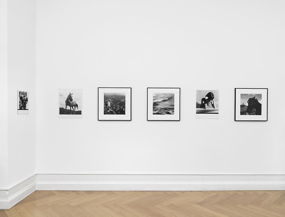 Moyra Davey Peter Hujar – installation view Galerie Buchholz, Berlin 2020