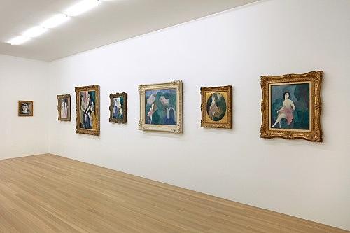 Marie Laurencin – installation view Galerie Buchholz, New York 2020