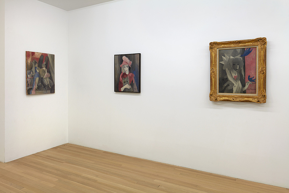 Marie Laurencin – installation view Galerie Buchholz, New York 2020