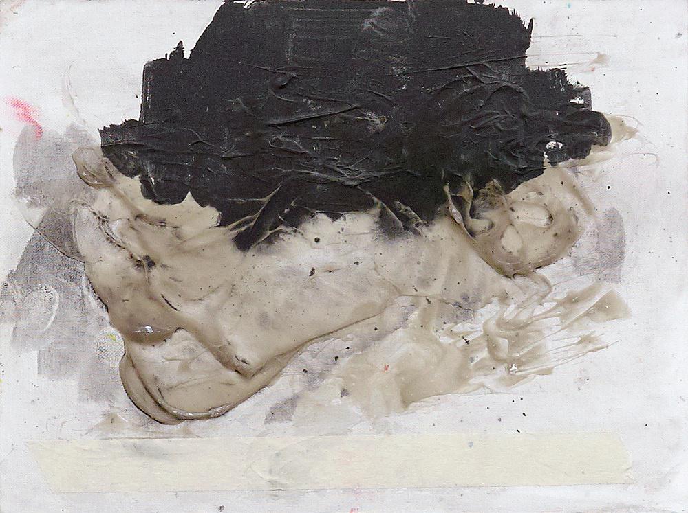 Henrik Olesen – organs, 2020 oil and mixed media on wood: 30 x 40 x 2 cm plug board: 161 x 15 x 8 cm detail