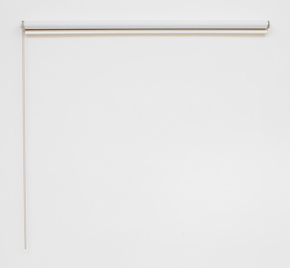 "Gili Tal – ""Blinds"", 2020 digital print on roller blind 5 x 130 x 7.5 cm installation view Galerie Buchholz, Berlin 2020"