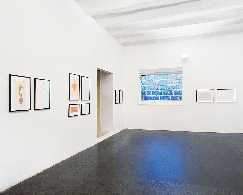 Larry Johnson – installation view Galerie Buchholz, Cologne 1998