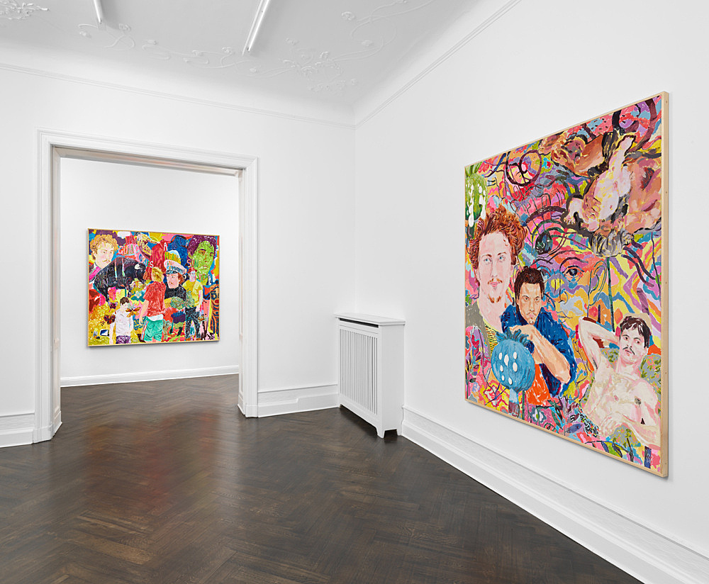 Richard Hawkins – installation view Galerie Buchholz, Berlin 2020