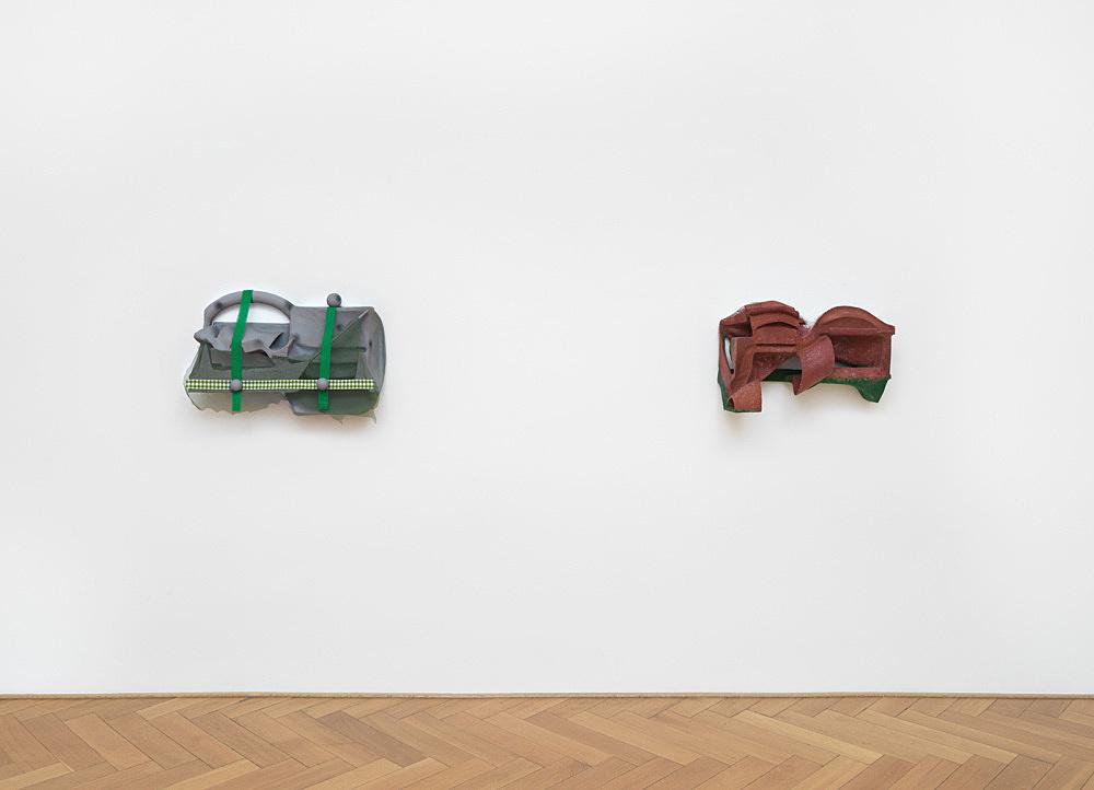 Vincent Fecteau – installation view Galerie Buchholz, Berlin 2020
