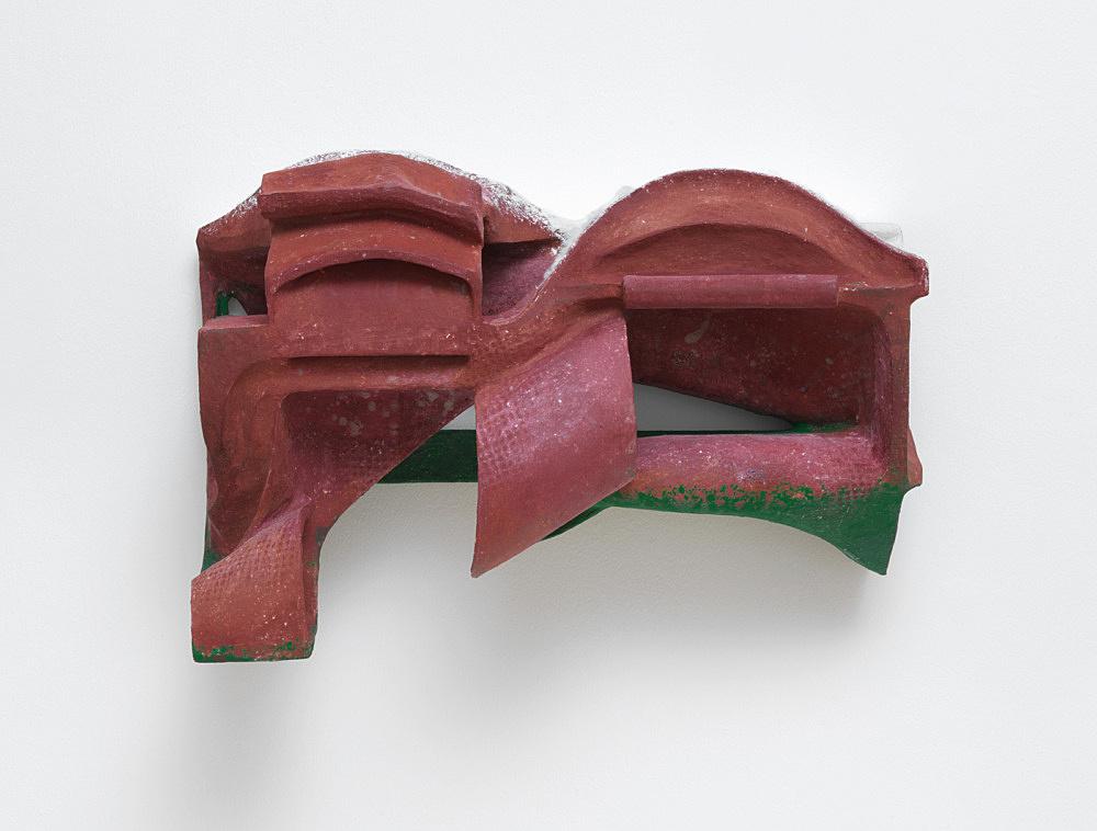 Vincent Fecteau – Untitled, 2020 papier-maché, acrylic, cotton batting 46 x 68.5 x 30.5 cm