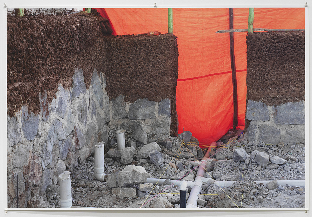 "Wolfgang Tillmans – ""Zoma construction Addis"" 2020 unframed inkjet print on paper, clips 138 x 206 cm"