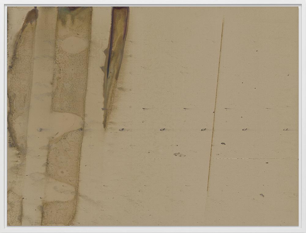 """Wolfgang Tillmans – """"Silver 210"""", 2017 inkjet print mounted on Dibond, in artist's frame 171 x 224 x 6 cm"""