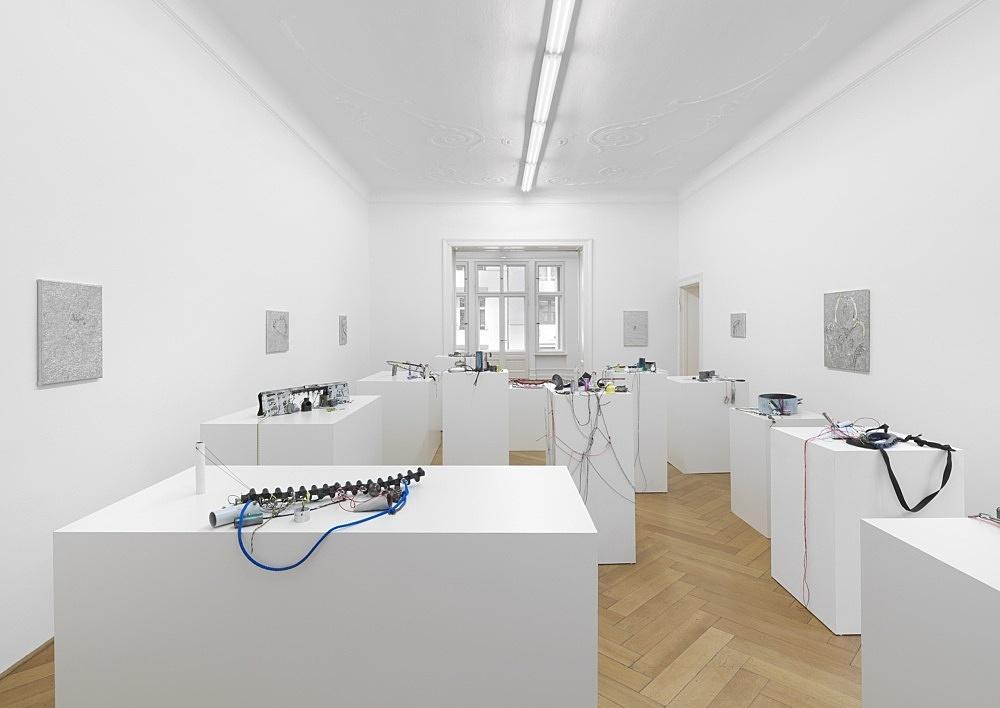 "Josef Strau – ""The Mephisto Hours"" installation view Galerie Buchholz, Berlin 2021"
