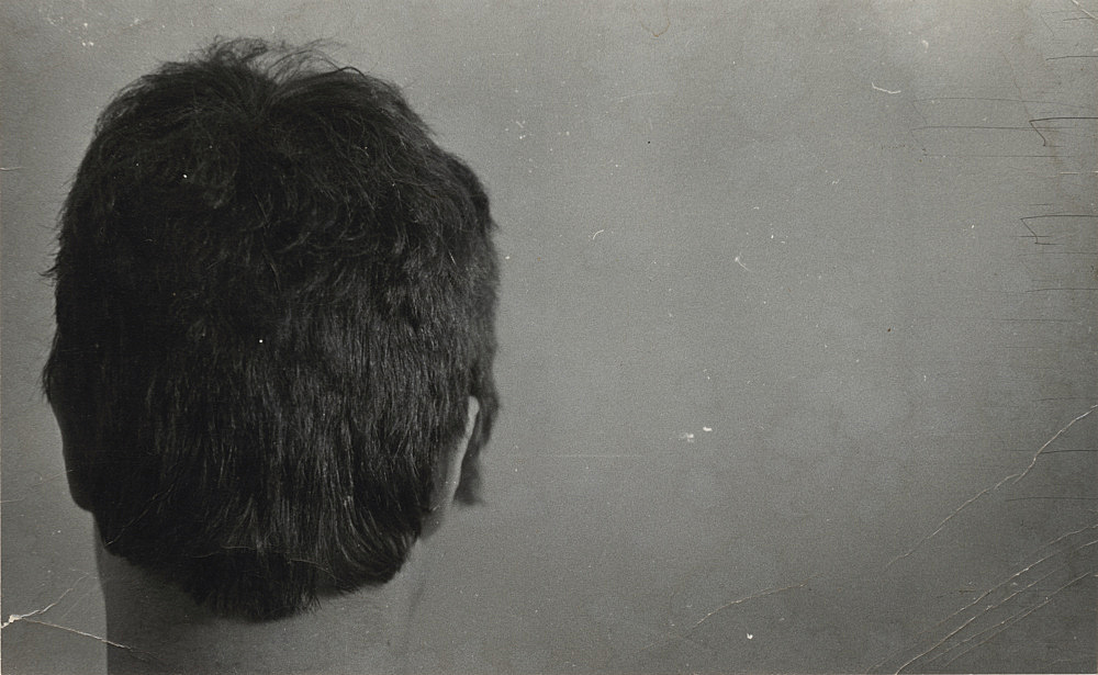 "Alvin Baltrop – ""Back of head"", n.d. silver gelatin print 8.6 x 13.7 cm"