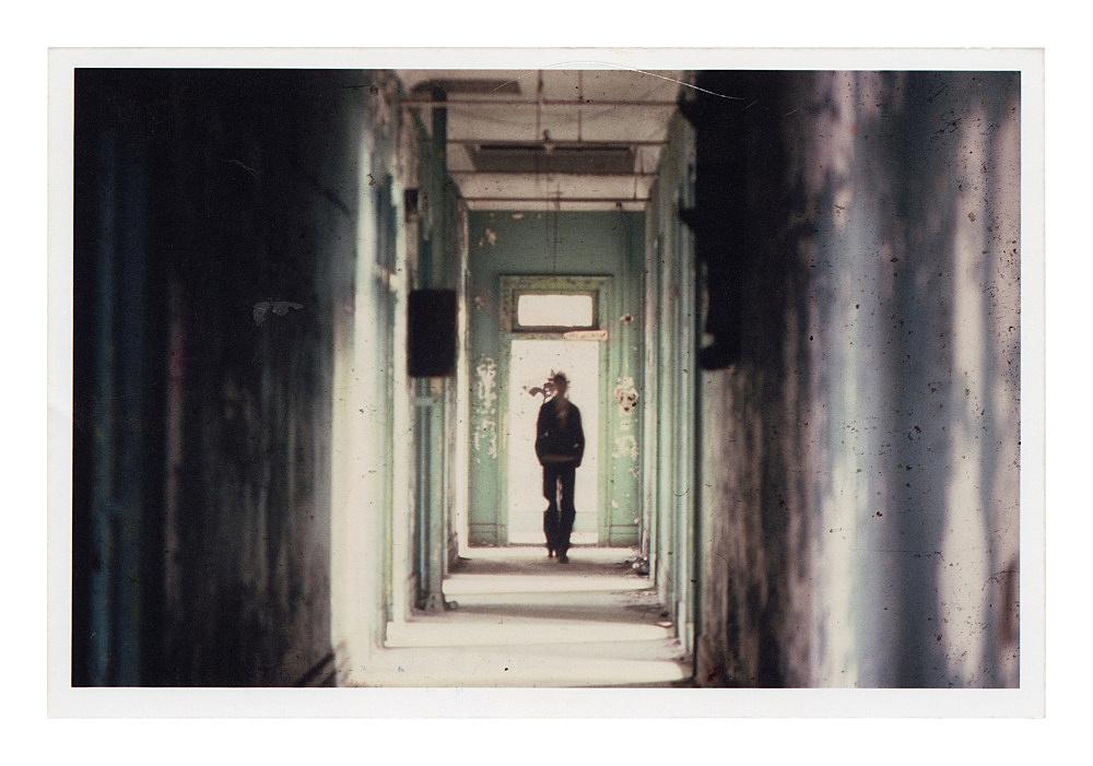 """Alvin Baltrop – """"The Piers (figure in hallway)"""", n.d. (1975-1986) c-print image size: 9 x 14 cm paper size: 10 x 15 cm"""