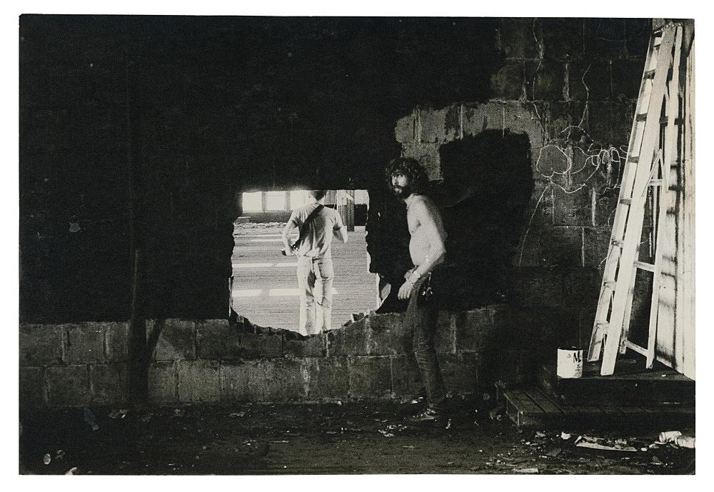 "Alvin Baltrop – ""The Piers (Tava from behind)"", n.d. (1975-1986) silver gelatin print 11.5 x 17 cm"