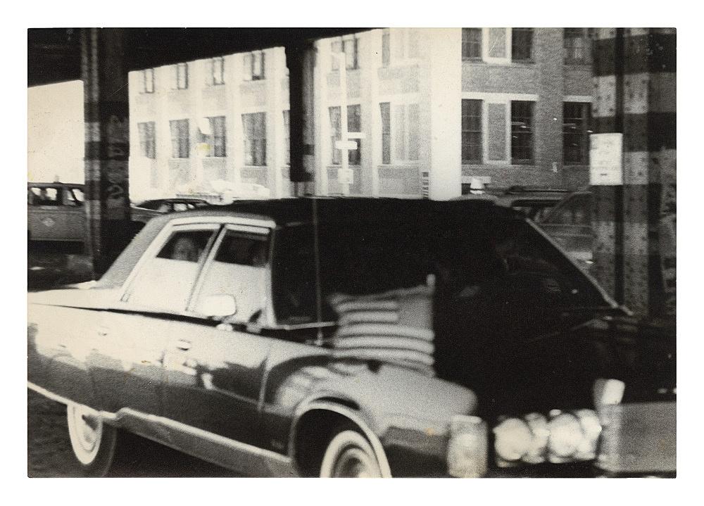 """Alvin Baltrop – """"Jimmy Carter"""", 1976 silver gelatin print 11.5 x 16.7cm"""