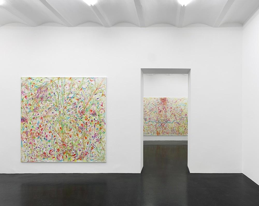 Jutta Koether – How goes it? installation view Galerie Buchholz, Köln 2021