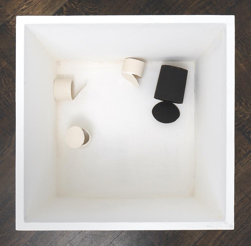 Peter Fischli – untitled, 2021 cardboard, coated, color 53 x 60 x 60 cm