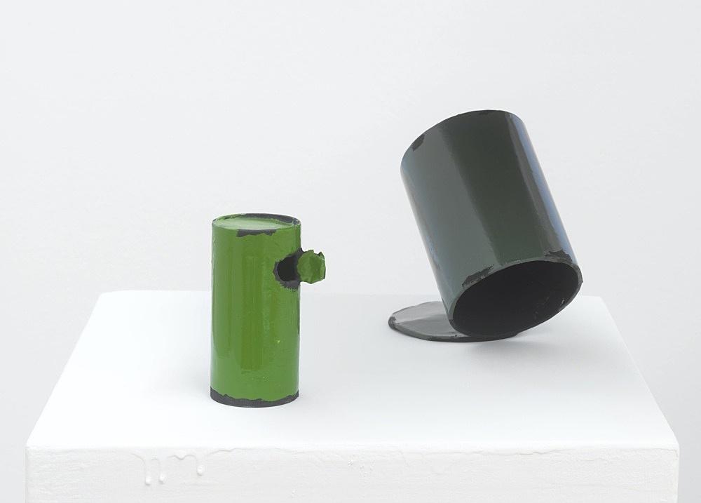 Peter Fischli – untitled, 2021 cardboard, coated, color 110 x 38 x 38 cm