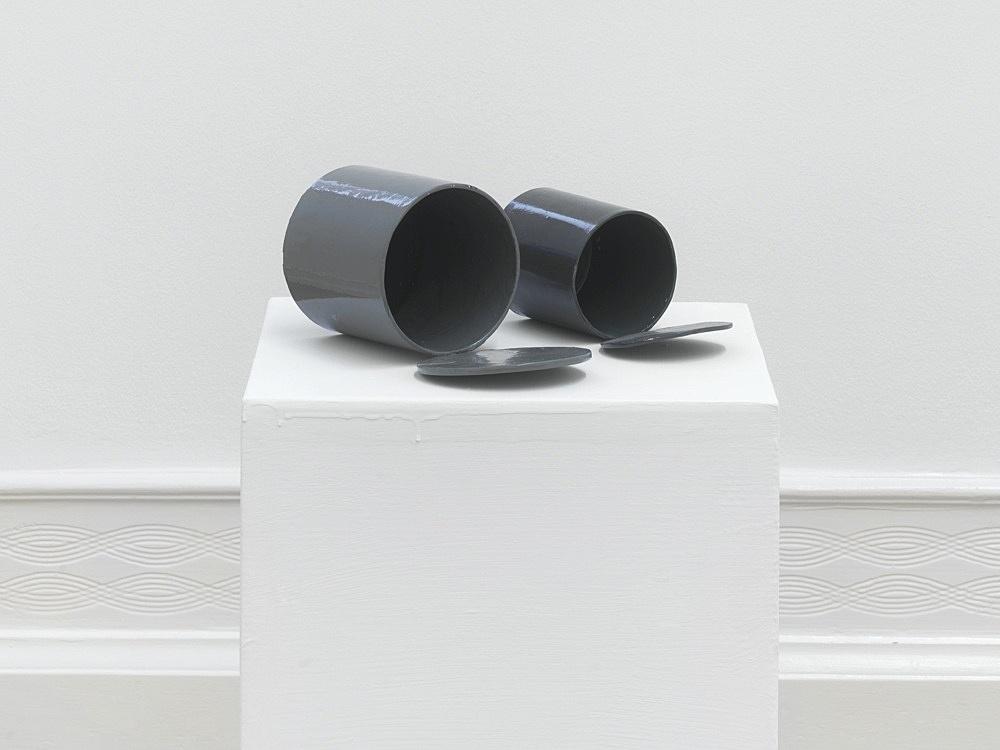 Peter Fischli – untitled, 2021 cardboard, coated, color 74 x 38 x 38 cm