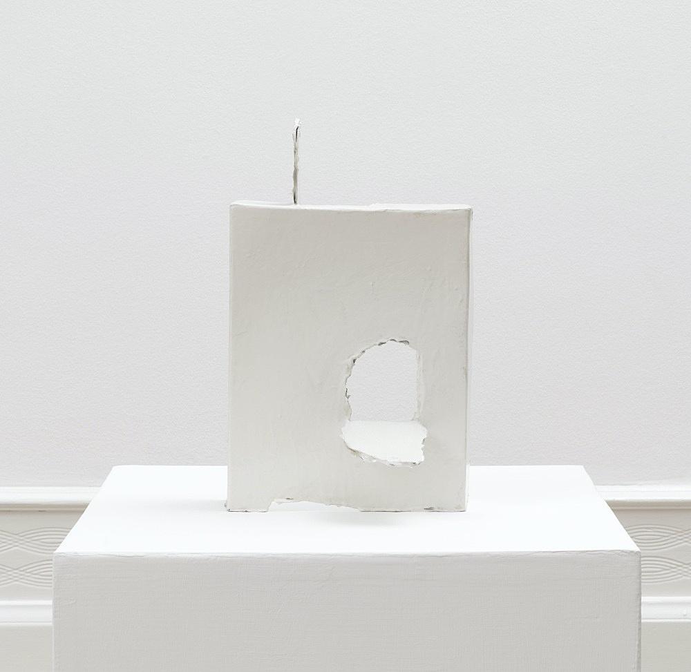 Peter Fischli – untitled, 2018 cardboard, coated, color 83 x 50 x 50 cm
