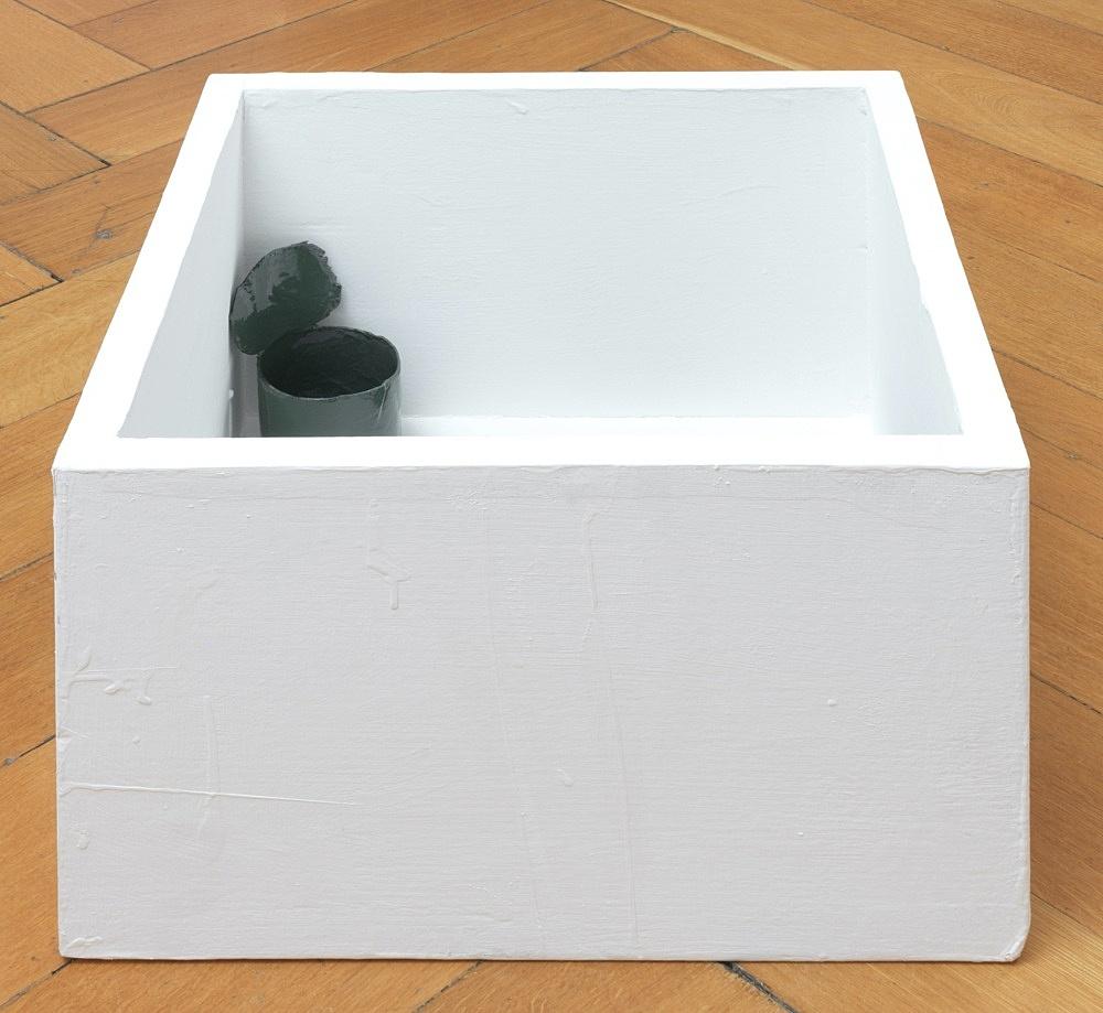Peter Fischli – untitled, 2021 cardboard, coated, color 29 x 40 x 40 cm
