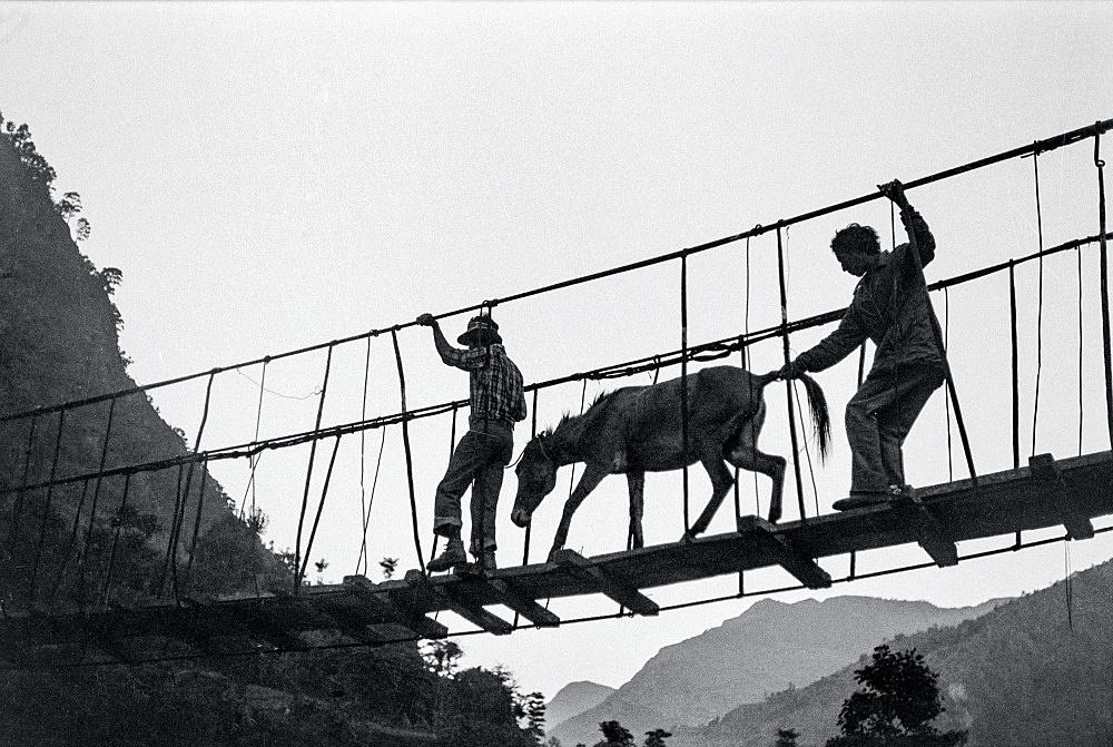 Michael Oppitz – Stage point of shaman's ritual journey, 1978 silver gelatin print, 2021 28 x 42 cm