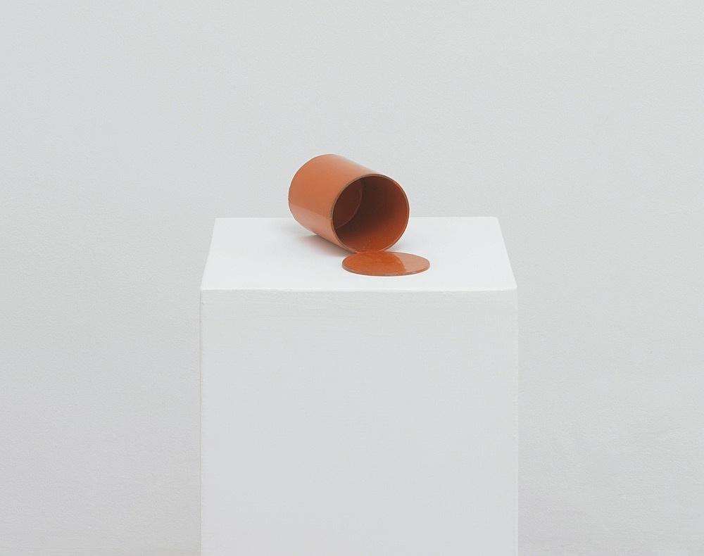 Peter Fischli – untitled, 2021 cardboard, coated, color 81 x 37 x 37 cm