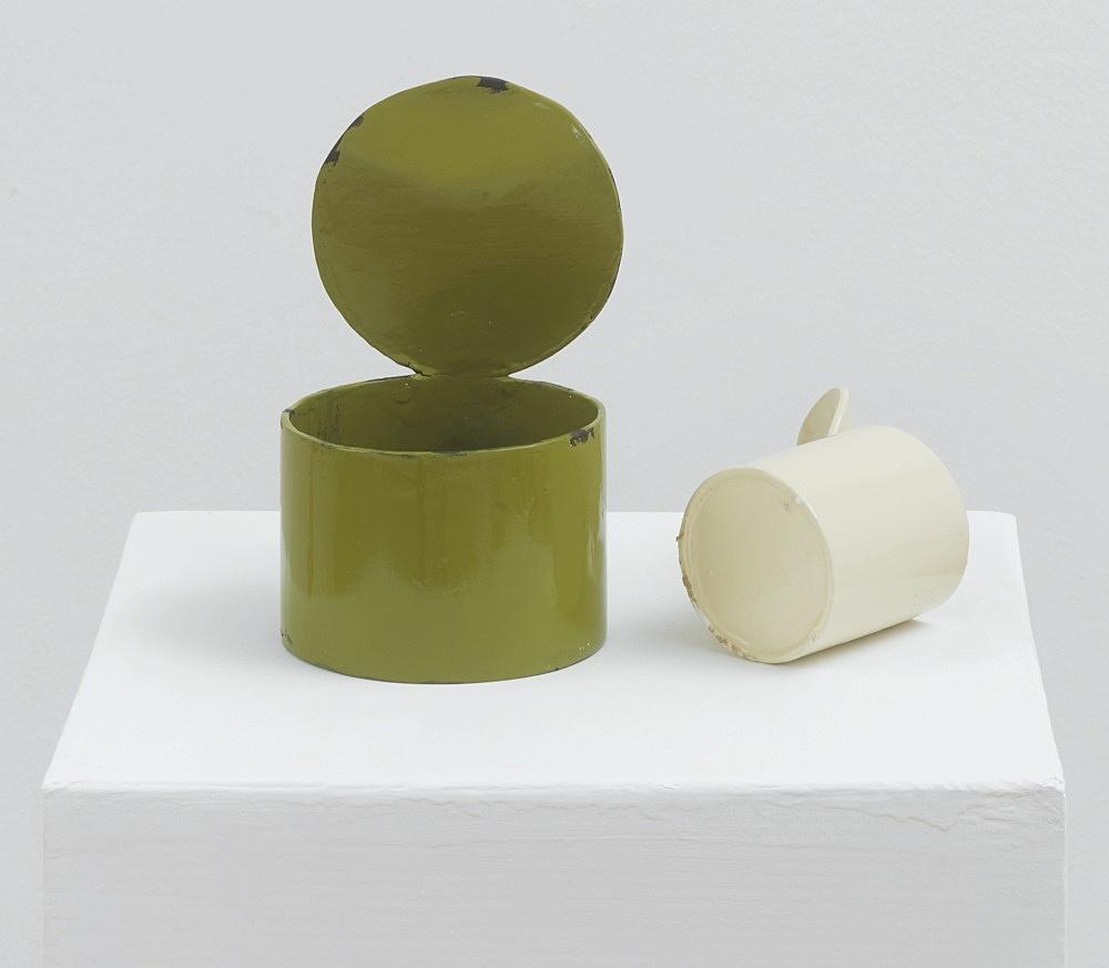 Peter Fischli – untitled, 2021 cardboard, coated, color 118 x 37 x 37 cm