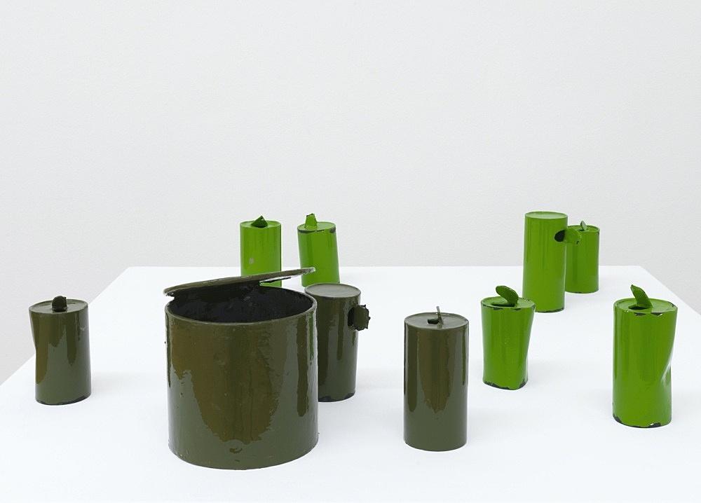 Peter Fischli – untitled, 2021 cardboard, coated, color 69 x 80 x 80 cm