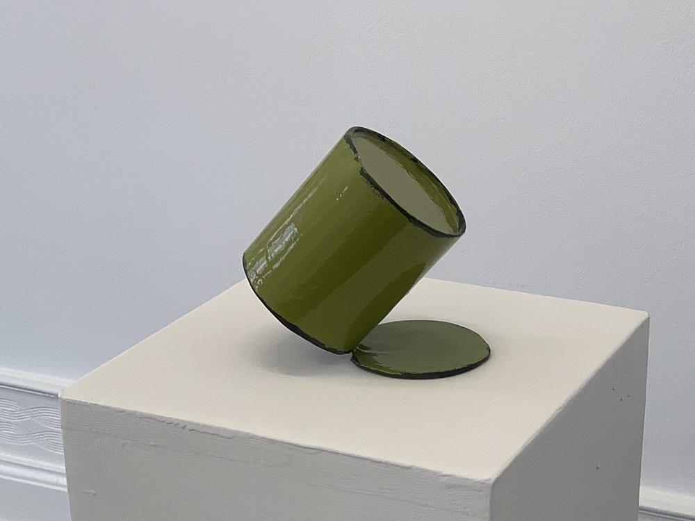 Peter Fischli – untitled, 2021 cardboard, coated, color 115.5 x 30 x 30 cm
