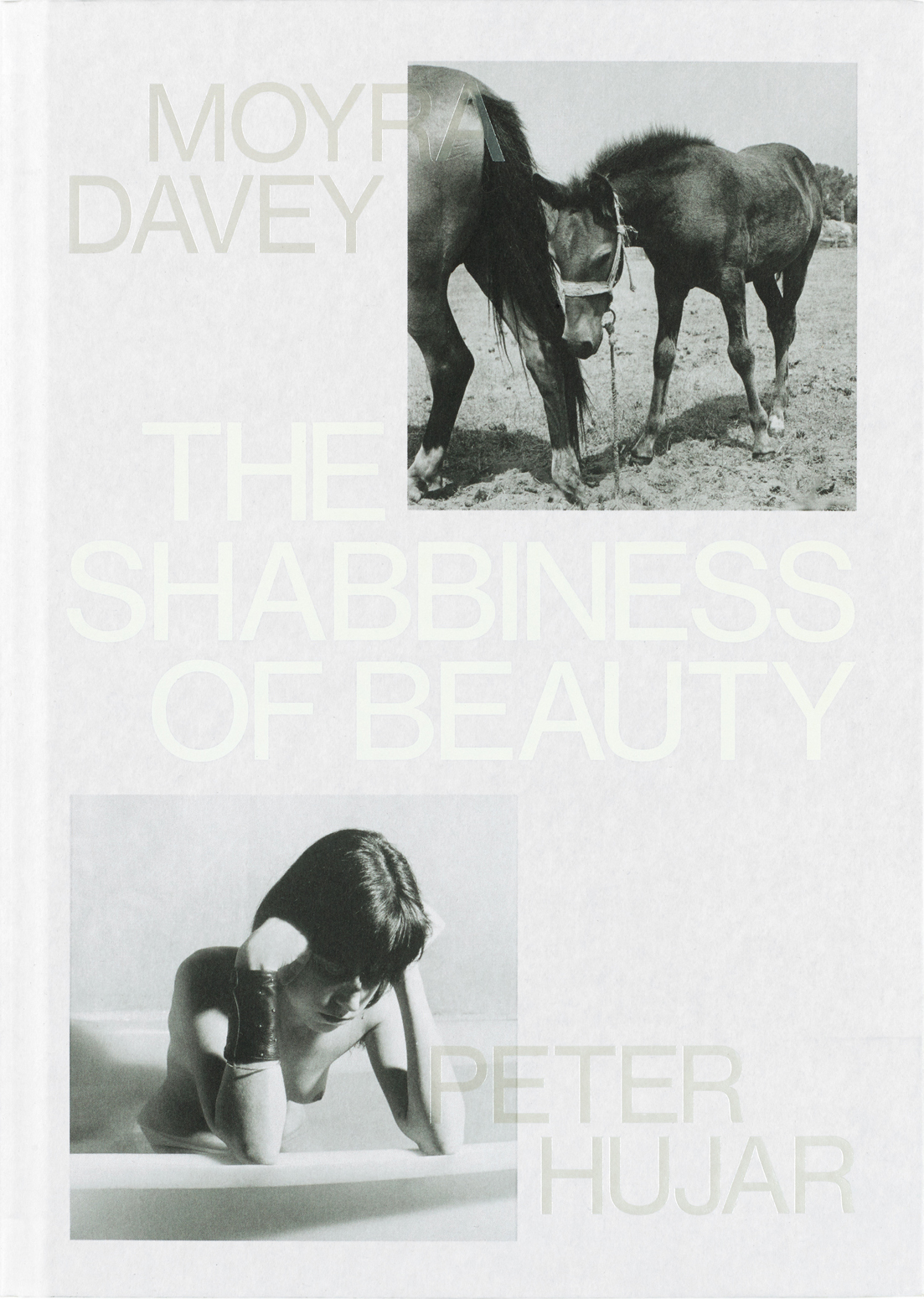 Moyra Davey & Peter Hujar – The Shabbiness of Beauty 2021, 128 pages, hardcover, fully illustrated in b/w and color, 17 x 24 cm Euro 40,- – This book originated out of an exhibition that Moyra Davey organized at Galerie Buchholz in Berlin. For this, Moyra Davey delved into Peter Hujar's archives and emerged mainly with little-known, scarcely seen images. In response to these, Davey created her own images that draw out an idiosyncratic selection of shared subjects. Side by side, the powerfully composed images admire, tease, and enhance one another in the manner of fierce friends, forming a visual exploration of physicality and sexuality that crackles with wit, tenderness, and perspicacity. Spiritually anchored in New York City – even as they range out to rural corners of Quebec and Pennsylvania – these images crystallize tensions between city and country, human and animal. Nudes pose with unruly chickens; human bodies are abstracted toward topography; seascapes and urban landscapes share the same tremulous plasticity. These continuities are punctuated by stark differences of approach: Davey's self-aware postmodernism against Hujar's humanism and embrace of darkroom manipulation. The rich dialogue between these photographs is personal and angular, ultimately offering an illuminating reintroduction to each artist through communion with the other's work. The book contains a new text by Eileen Myles and is published by Mack Books, London.